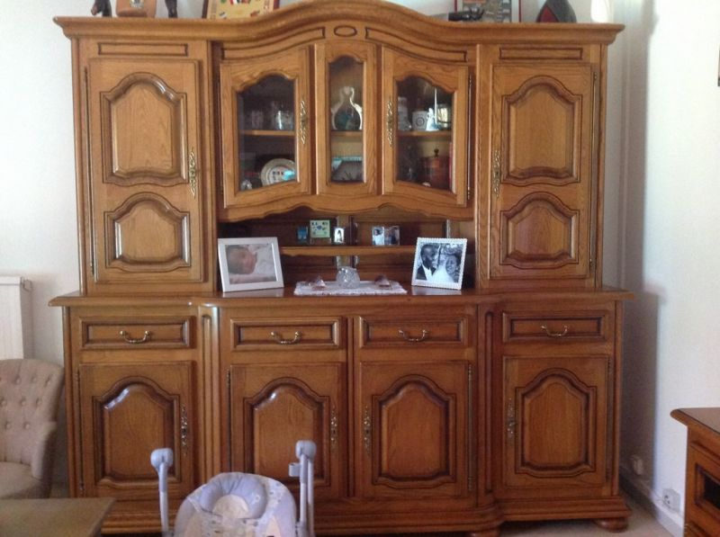 buffet vaisselier ancien en ch ne relook et modernis apt 84 finition patine et relooking. Black Bedroom Furniture Sets. Home Design Ideas