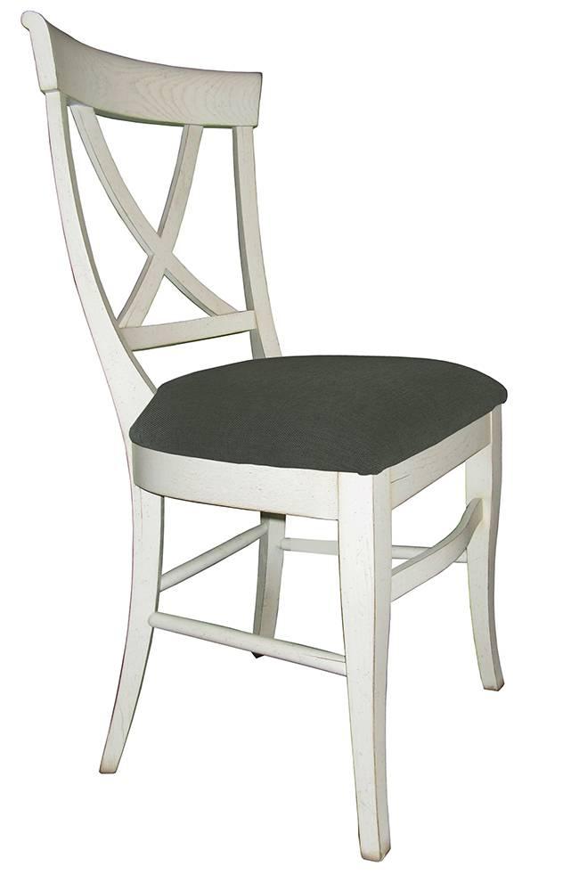 chaise en bois avec assise en tissus finition patine et relooking de meuble aix en provence. Black Bedroom Furniture Sets. Home Design Ideas