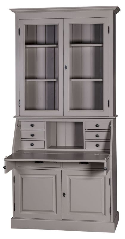 bureau secr taire haut vitr finition patine et relooking de meuble aix en provence les. Black Bedroom Furniture Sets. Home Design Ideas