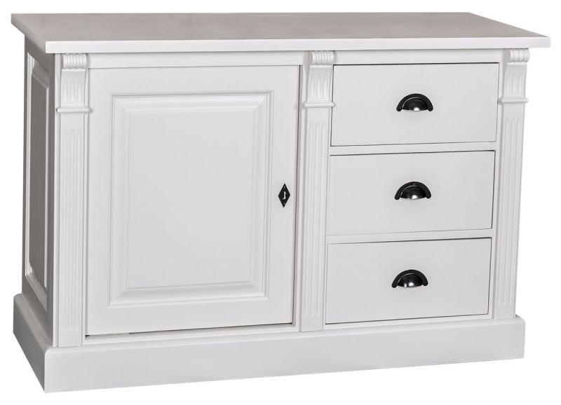 bahut 1 porte 3 tiroirs en ch ne massif ou en pin massif finition patine et relooking de. Black Bedroom Furniture Sets. Home Design Ideas