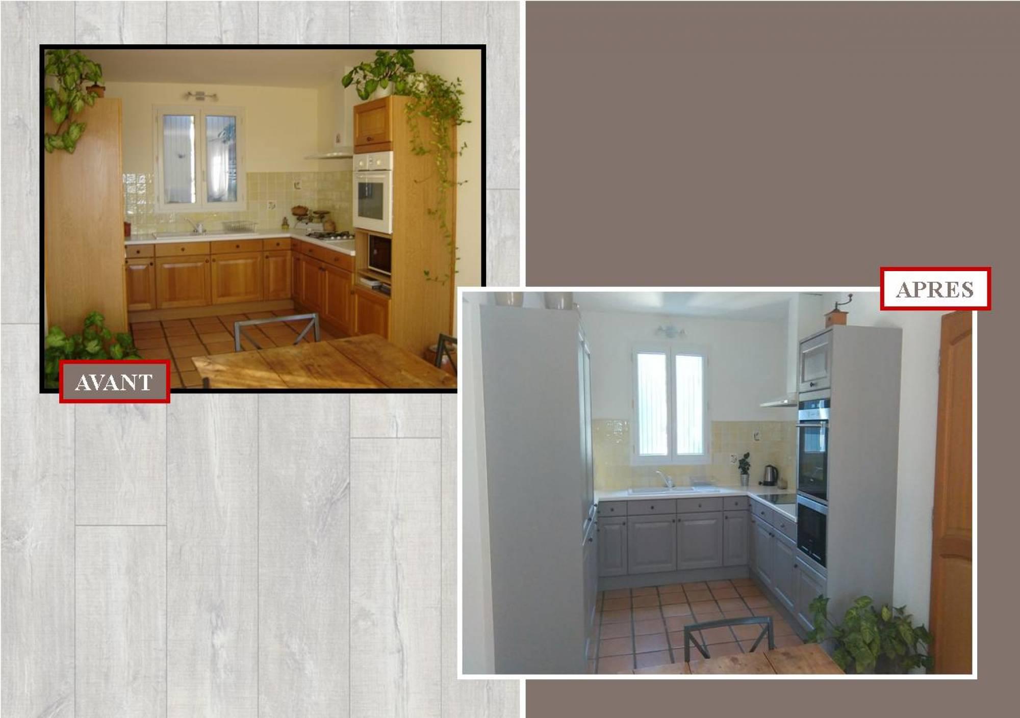 Relooking de votre cuisine en bois à Salon de provence 13 ...
