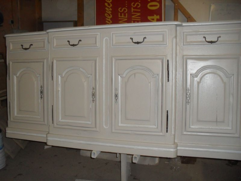 buffet ancien en ch ne relook dans les alentours de aix. Black Bedroom Furniture Sets. Home Design Ideas