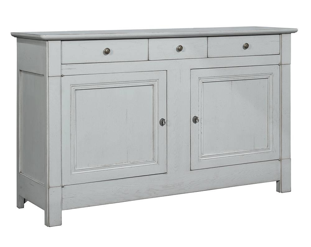 bahut 2 portes 3 tiroirs en ch ne massif patin finition patine et relooking de meuble aix. Black Bedroom Furniture Sets. Home Design Ideas