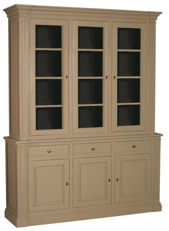 buffet vaisselier 2 corps 3 portes 3 tiroirs patin finition patine et relooking de meuble. Black Bedroom Furniture Sets. Home Design Ideas