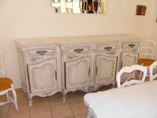 d capage peinture et patine d 39 une salle manger de style proven al avignon peinture et. Black Bedroom Furniture Sets. Home Design Ideas