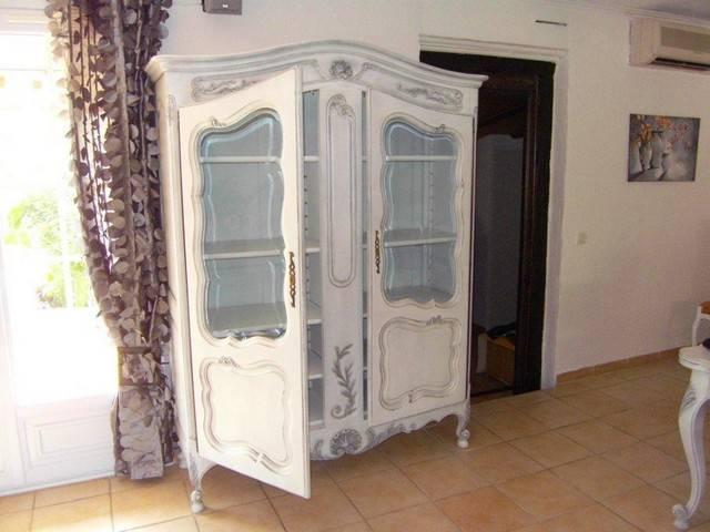 D capage peinture et patine d 39 une salle manger de style proven al avignon peinture et for Deco et meuble avignon