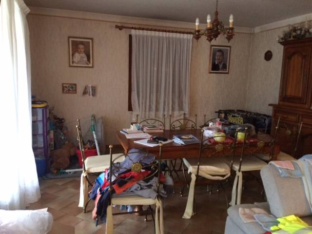 Relookage d\'une salle à manger en noyer blanc vieilli et ...
