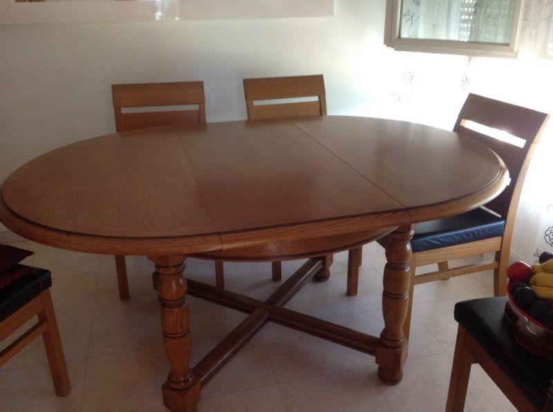 table de salle manger en ch ne relook e et modernis e apt 84 finition patine et. Black Bedroom Furniture Sets. Home Design Ideas