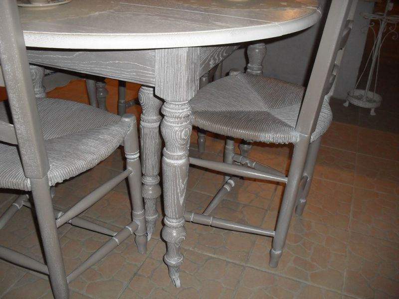 awesome chaise provencale ancienne contemporary On table ancienne et chaises modernes