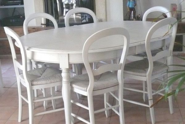 salle manger style louis philippe relooke istres - Salle A Manger Blanc Vieilli