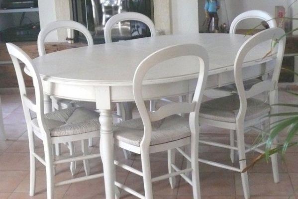 Peinture et patine de meubles marseille finitions de for Salle a manger louis philippe